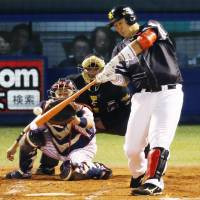 Hawks move to brink of Japan Series glory