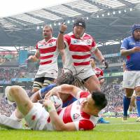 Japan shows mettle in victory over Samoa