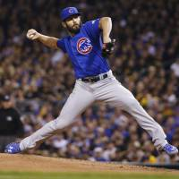 Arrieta, Cubs blank Pirates