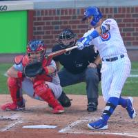 Cubs clinch series, make Wrigley history