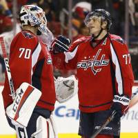 Ovechkin saves Capitals in opener