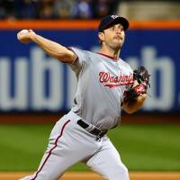 Scherzer strikes out 17 in second no-hitter of season