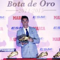 Ronaldo wins fourth Golden Boot award