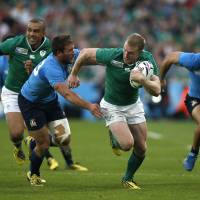 Ireland beats Italy to reach Rugby World Cup quarterfinals