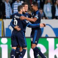 Ronaldo brace guides Madrid past Malmo