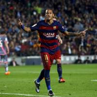 Neymar scores four in Barca victory