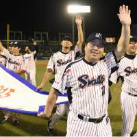 Ishikawa savors resilient Swallows' rise from cellar to CL champions