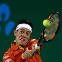 Nishikori ousted by Anderson at Shanghai Masters