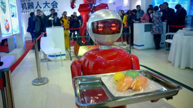 Beijing robot expo shows ambitions, limits of Chinese innovation