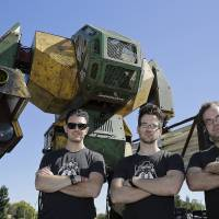 Upstart California startup challenges Tokyo firm to battle of giant robots