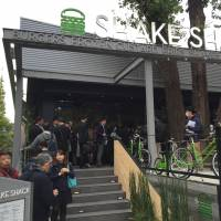 First Shake Shack in Asia opens to long lines in Tokyo
