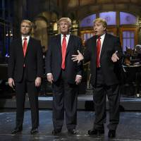 Kind of dead as Trump hosts Saturday Night Live