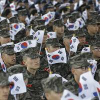 South Korea stages live-fire drill near sea border with North