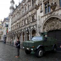 Brussels on lockdown in fear of Paris-style attacks