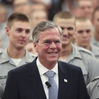 Bush joins GOP rivals Carson, Graham in calling for ground troops against Islamic State