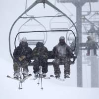 California drought not over but downpours raise hopes, open slopes early for skiing