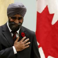 Decorated Sikh soldier takes command of Canada's military