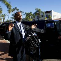 Candidate Carson wants Syria refugee screening to filter out 'mad dogs'