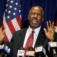Egyptian antiquities officials scoff at Ben Carson's pyramid claims