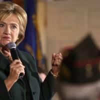Islamic State threat too diffuse to merit costly declaration of war at present: Clinton