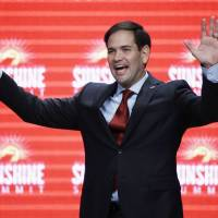 GOP hopefuls Rubio, Carson, Cruz say U.S. must bar Syrian refugees