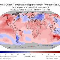 Adsurdly hot October as Earth sets 8th heat record this year