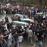 Decapitation of seven Shiite Hazara hostages sparks massive Kabul protest