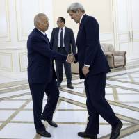 During visit, Kerry raises human rights issue with autocratic central Asian states