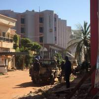 Gunmen seize 170 hostages at Radisson hotel in Mali's capital