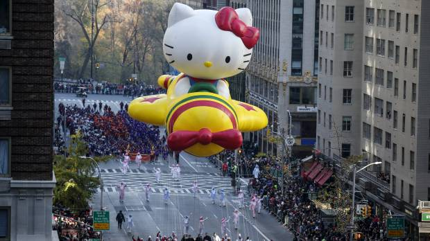 NYC floats through 89th annual Thanksgiving parade amid extra tight security