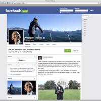 'President Obama, public figure' Facebook page debuts, draws 200,000 'likes'