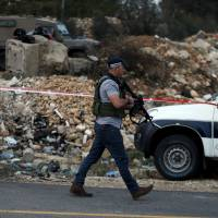 Palestinian shot dead after ramming car into Israeli policeman in West Bank
