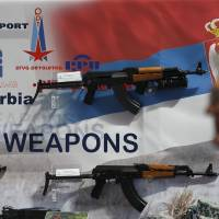 Some weapons used by militants in Paris were made in ex-Yugoslavia