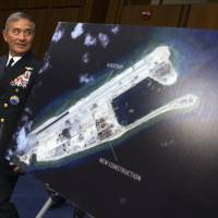 U.S. Pacific commander says sailing past Chinese isles not a threat
