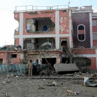 Hotel attack in Somalia leaves nine dead