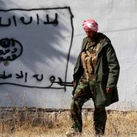 Kurdish forces recapture towns from militants in Iraq and Syria