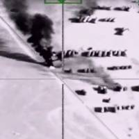 U.S. aircraft destroy 283 Islamic State-held fuel trucks in Syria after warning drivers to flee