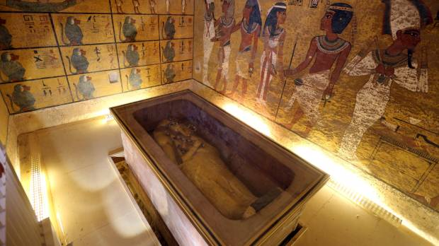 Tut tomb may conceal Egypt's lost queen; new evidence headed to Japan for analysis