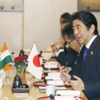 Abe hopes to visit India next month in bid to boost security ties