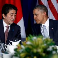 Abe to mull SDF dispatch to South China Sea
