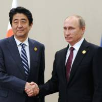Putin's Japan visit shelved for this year amid inconclusive meeting with Abe in Turkey