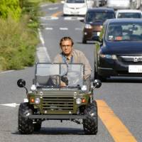 Iranian's Japanese startup shifts into high gear with jeep-style minicar