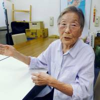 Korean woman recalls WWII poverty, discrimination in Kobe