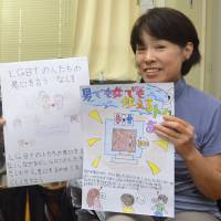 Mie teacher helps fill school void on LGBT issues