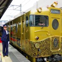Luxury train begins second phase of service in Nagasaki