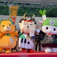 Hamamatsu's Ieyasu-kun named Japan's top mascot character at 2015 Yuru-Kyara Grand Prix