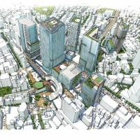 Shibuya's redevelopment to create a futuristic railway station fit for the 21st century
