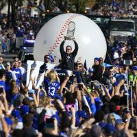 Royals celebrate World Series title