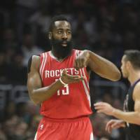 Harden has big night in win over Clippers