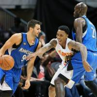 T-Wolves blow 34-point lead, still triumph